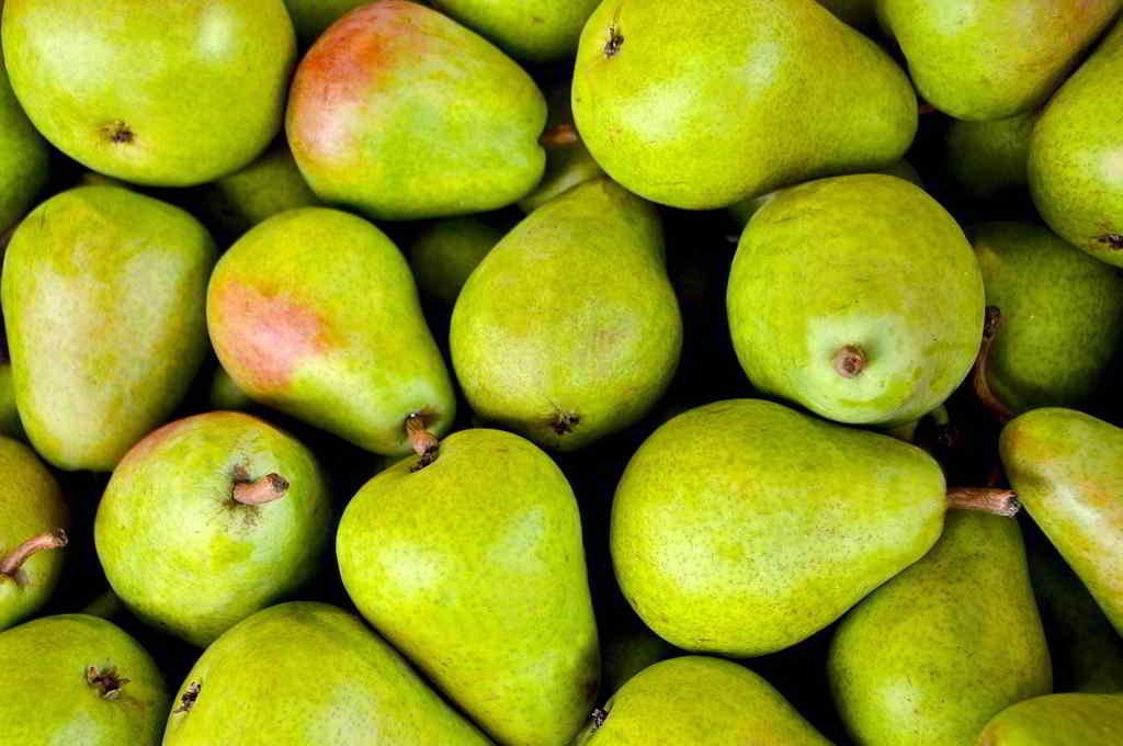 Comer peras es importante