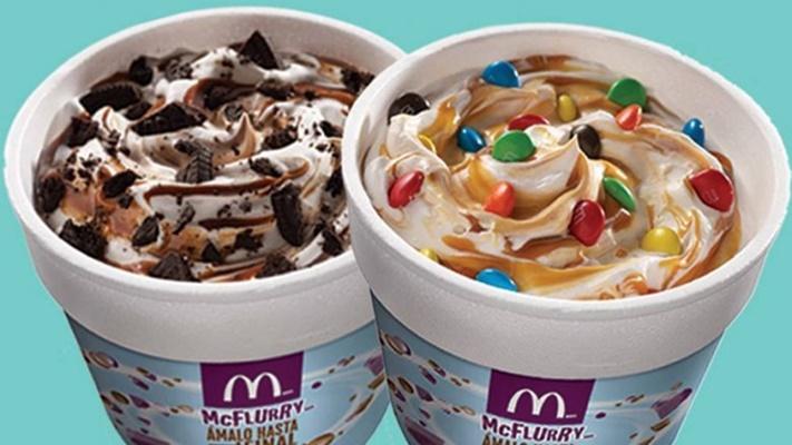 Estos son los ingredientes del McFlurry de McDonald's