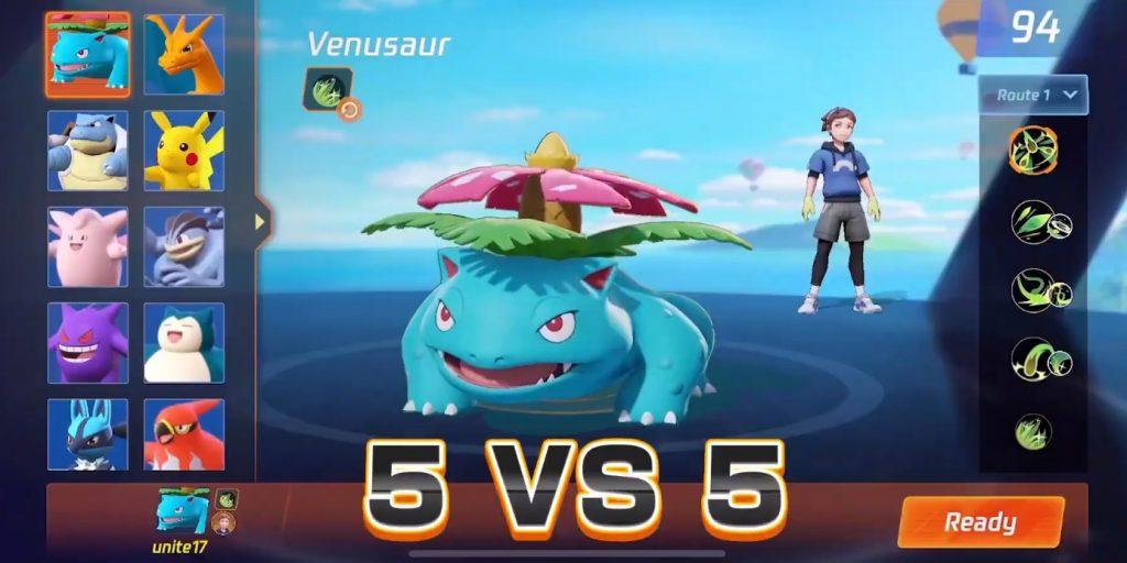 ¿Cuál es el objetivo de los entrenamientos de Pokémon Unite?