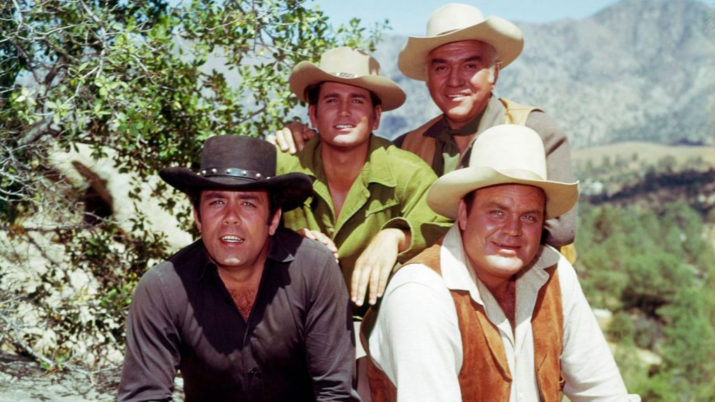 ¿Quiénes eran los protagonistas de Bonanza?