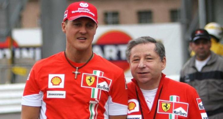 Jean Todt Michael Schumacher