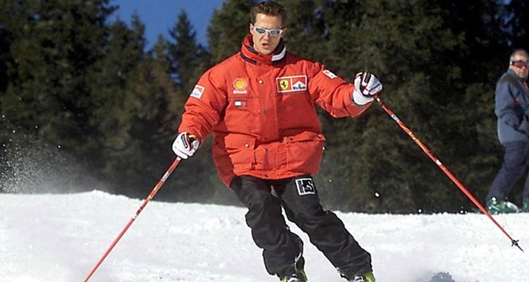 Michael Schumacher esquí 2013