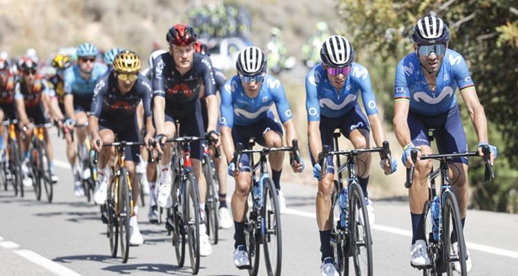 Movistar pérdida cobertura Valverde LA Vuelta