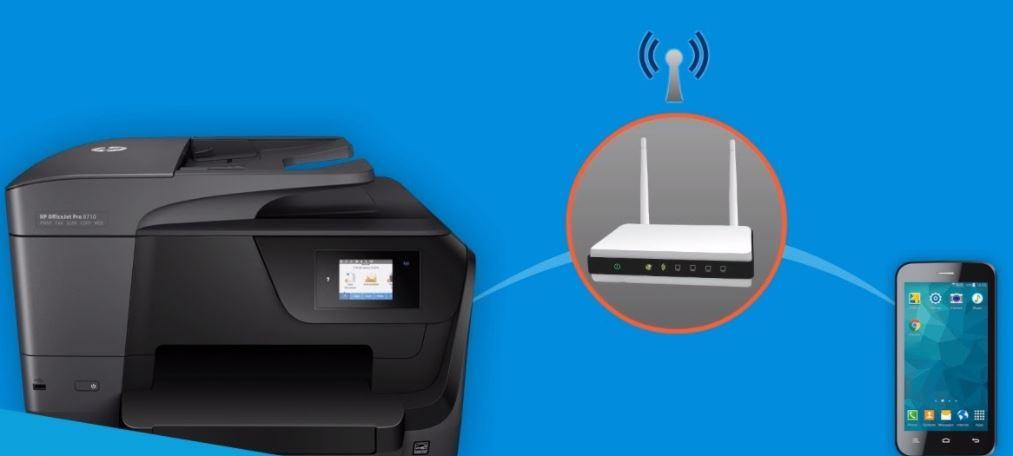 ¿Cómo hacer una configuración de impresora HP a una red WiFi?