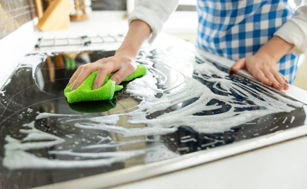 ¿Cómo hacer una limpieza correcta en la vitrocerámica?