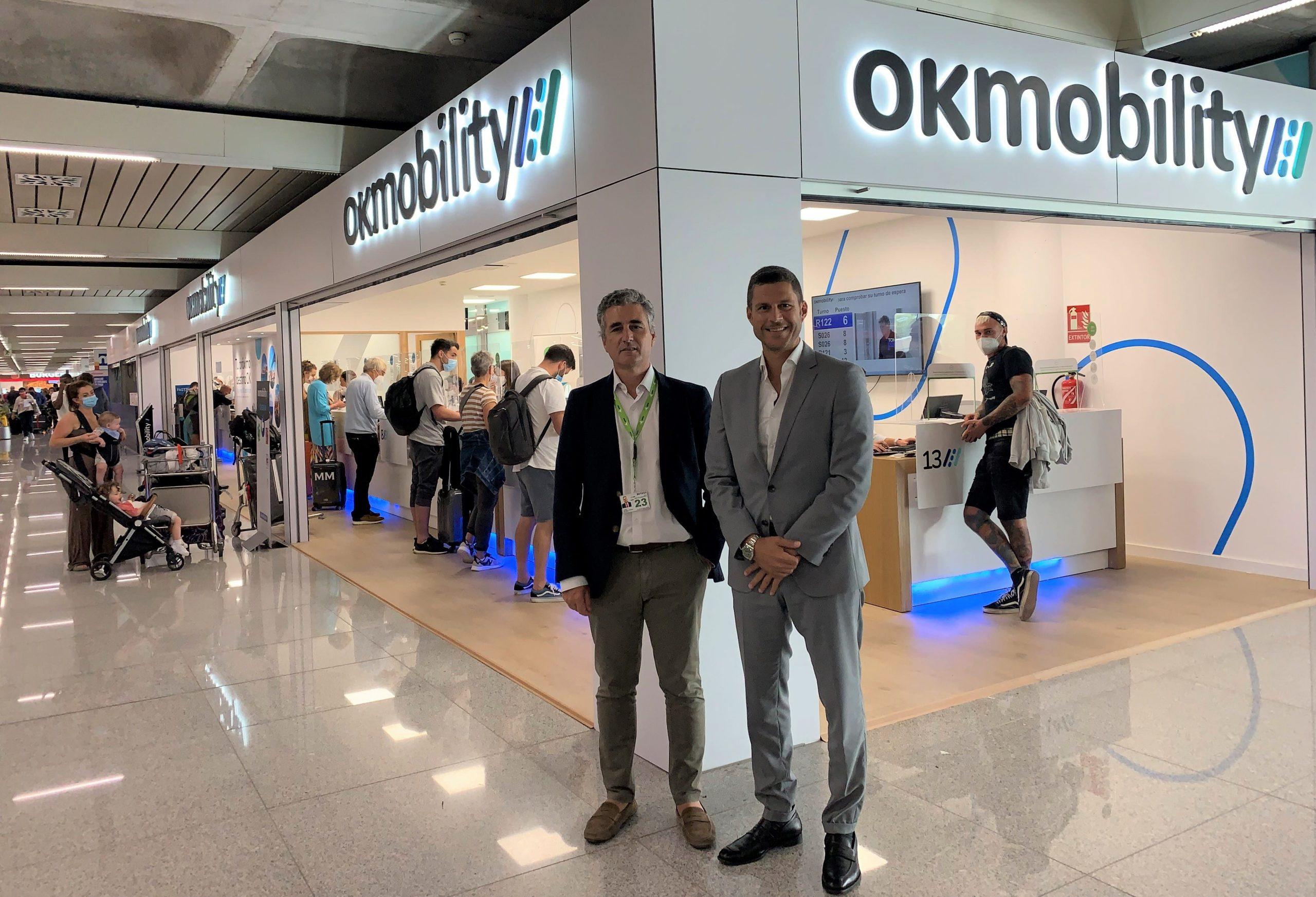 OK Mobility opera ya dentro del Aeropuerto de Palma