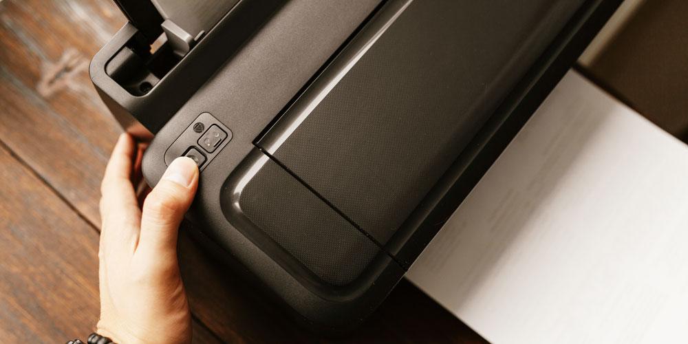 Reconfiguración de impresora HP generales