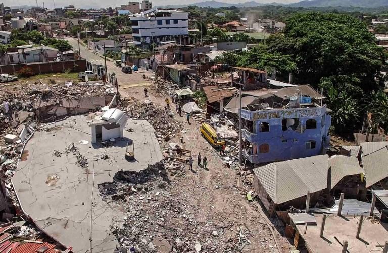 Medidas a frente a un terremoto