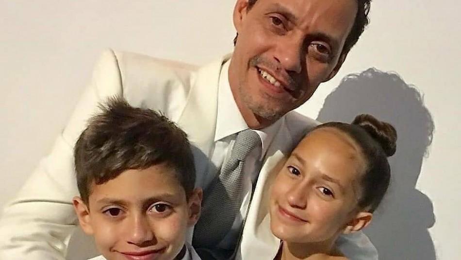JLo y Marc Anthony Famosos que son padres de gemelos