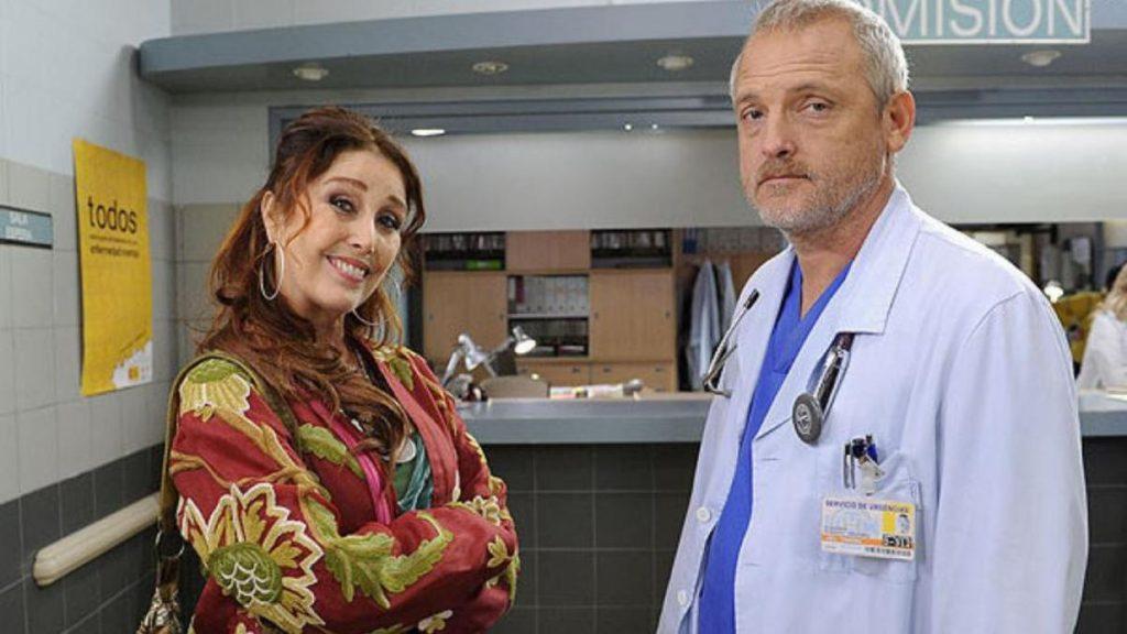 Jordi Rebellón en Hospital central