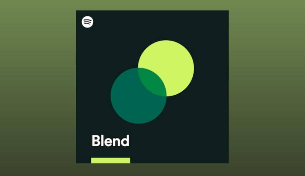 ¿Cómo funciona Blend en Spotify?