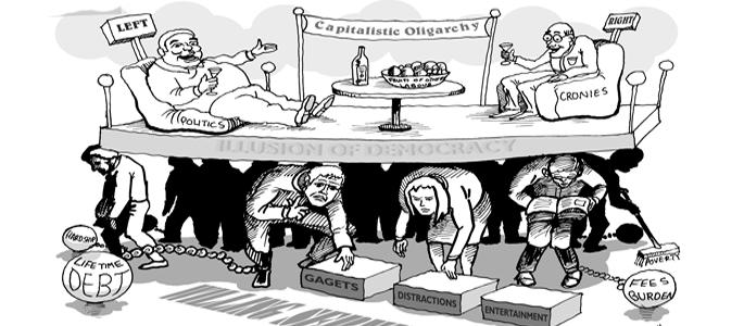 Los tipos de oligarquía que existen