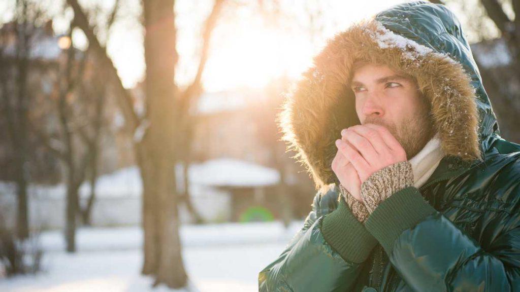 Temperatura baja, lo que sucede con el cuerpo frente a ello