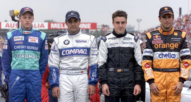 Kimi Raikkonen Australia 2001 F1