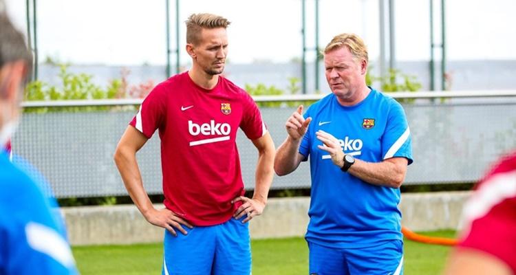 Luuk de Jong Barça Koeman