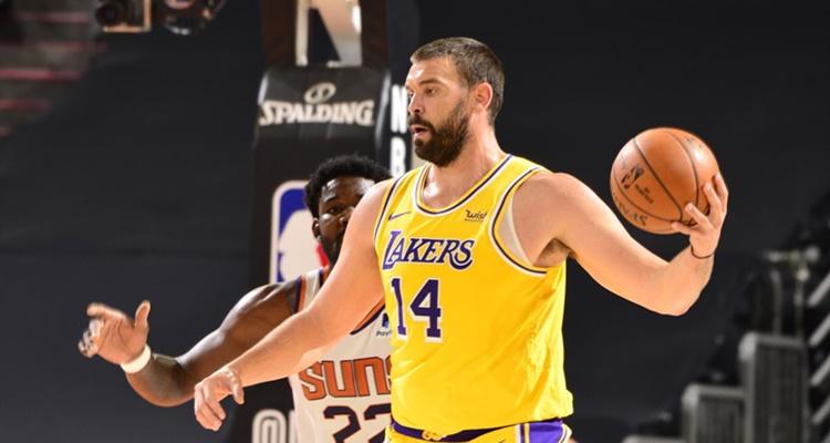 Marc Gasol Los Angeles Lakers equipos