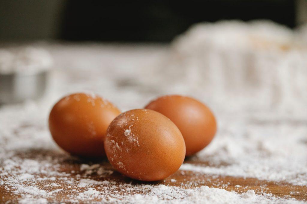Cáscaras de huevo como apósito