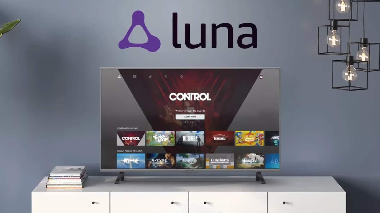 Luna el servicio gaming de Amazon