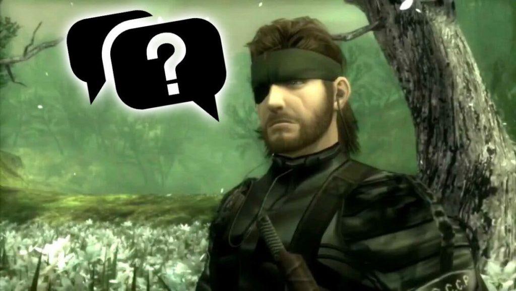 Metal Gear 3 todavía tiene más para el público
