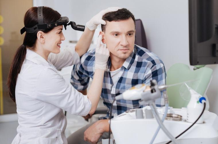 ¿Qué es el laberinto en el oído?