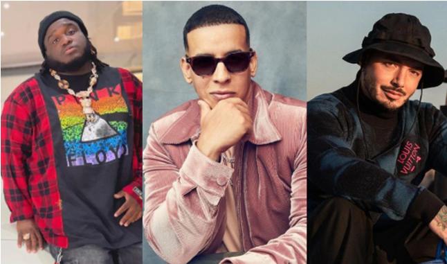 Sech Daddy Yankee J Balvin  Sal y Perrea Remix
