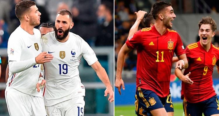 España Francia UEFA Nations League